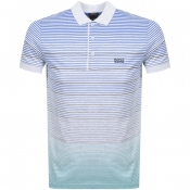 BOSS Athleisure Paddy 3 Polo T Shirt Grey